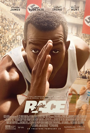 RACE a film about Jesse Owens Boston opens Feb 19th